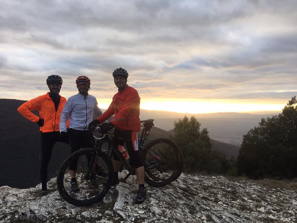 Percorso mountain bike MTB Casale di Scopoli 2