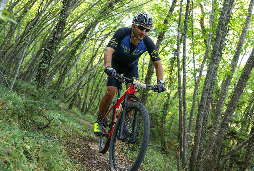 Percorso mountain bike MTB Casale di Scopoli 8